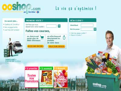 supermarché de carrefour : ooshop